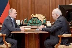 Президент России встретился с главой Хакасии и обсудил будущее региона
