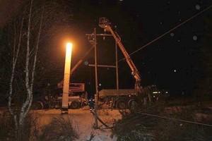 Энергетики оперативно справились с последствиями урагана в Хакасии