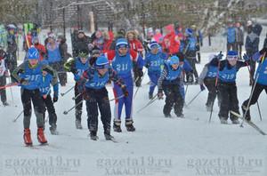 В Таштыпском районе прошли традиционные соревнования на лыжне Швыдкова — Шулбаева
