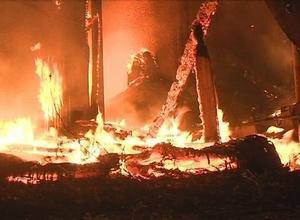 В Саяногорске произошел пожар