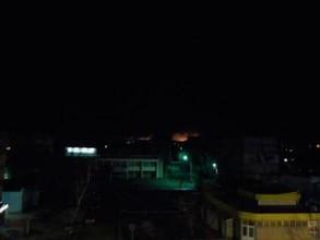 Тлеющая свалка в Саяногорске дала о себе знать большим пожаром