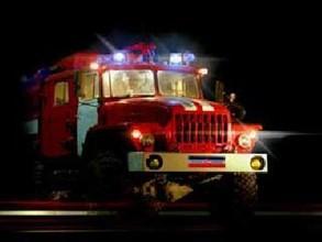 В Саяногорске всю ночь тушили пожар на свалке