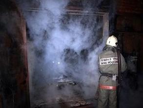 В Черемушках из-за печки загорелась недвижимость