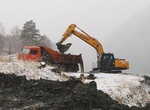 В Черемушках продолжается строительство набережной