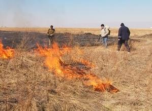 В Саяногорске продолжаются мероприятия к пожароопасному периоду