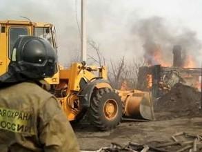 В Хакасии при пожаре погибли два человека
