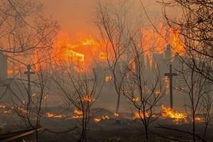Власти Хакасии назвали ущерб от пожаров огромным