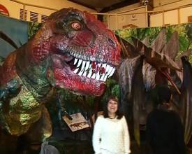 В Саяногорск прибыли гости с «Планеты динозавров»