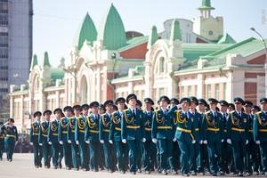 Саяногорские кадеты участвовали в параде Победы