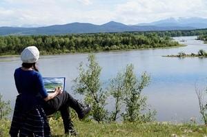 В Саяногорске стартовал стартовал экологический марафон в честь Дня Енисея