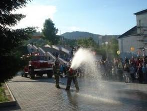Пожарные на празднике – к веселью