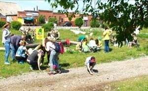 Юные саяногорцы приняли участие во Всероссийском экологическом детском фестивале