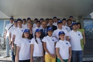 В Хакасэнерго за опытом и зарплатой пришли студенты технических вузов Хакасии
