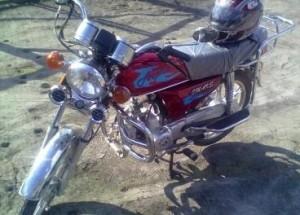 В Хакасии ВАЗ столкнулся с мотоциклом