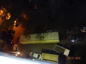 В Саяногорске водитель фуры таранил несколько машин, убегая от погони ГАИ