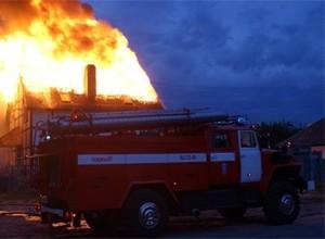 В Абазе (Хакасия) сгорел жилой дом