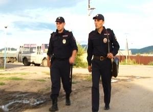 Полицейские массово проверили улицы Саяногорска