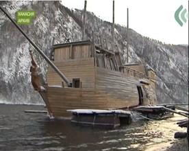 Пиратский корабль из Саяногорска претендует на российскую премию