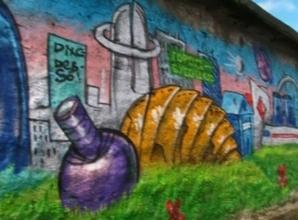 В Саяногорске прошел первый фестиваль граффити