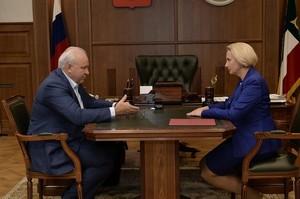 Виктор Зимин встретился с и.о. главы минздрава Хакасии: итоги