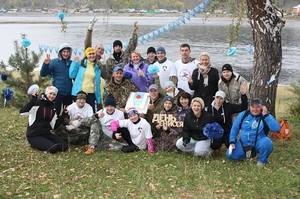 День Енисея в Саяногорске: дети, моржи и туристы