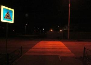 Саяногорский водитель в темноте не заметил пешехода и сбил его
