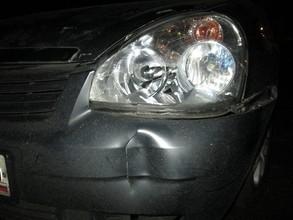 В Саяногорске пьяная женщина бросилась под машину
