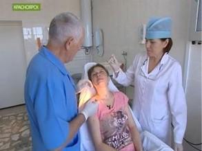 В Красноярске после нападения медведя лечится жительница Саяногорска
