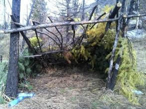 В Саяно-Шушенском заповеднике оперативная группа во время рейда обнаружила следы пребывания браконьеров.