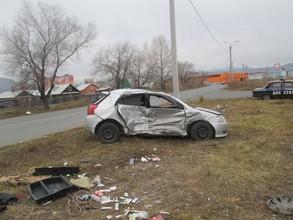В Саяногорске пострадали два водителя
