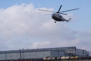 В Абакане прошли учения пожарных по обустройству временной вертолетной площадки