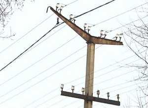 В поселке Майна начинаются масштабные работы по замене уличных светильников