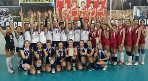 Определены победители первенства Хакасии по волейболу