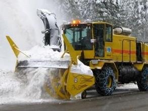 Дорогу Абакан - Саяногорск чистили почти сутки
