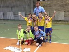 В Хакасии состоялся турнир по мини-футболу среди семилеток