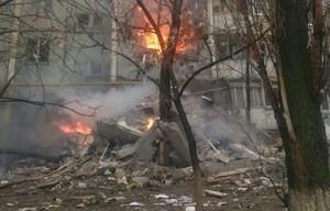 Взрыв бытового газа произошел в девятиэтажном доме в Волгограде.