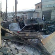 В гаражном массиве Абакана прогремел мощный взрыв.