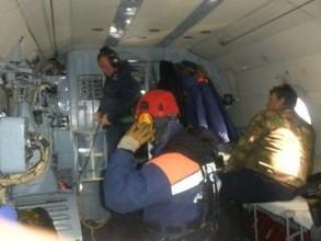 Заблудившихся охотников из Хакасии эвакуировали в поселок Черемушки