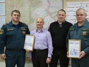 Охотники из Хакасии поблагодарили МЧС за спасение