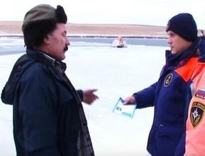 Лед на большинстве озер Бейского района – безопасен для рыбаков