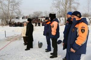В Хакасии на Крещение в водоемах искупались 5,5 тысяч человек
