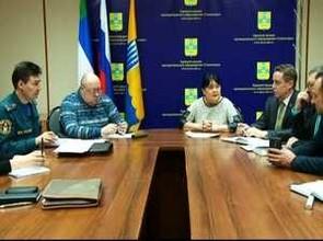 Нестабильная пожароопасная обстановка в Саяногорске собрала КЧС