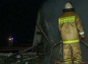 В Саяногорске на пожаре погиб человек