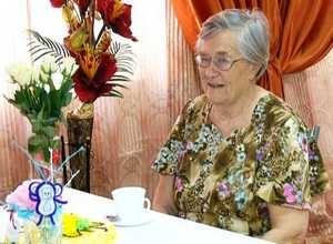 В саяногорском пансионате отметили юбилей почетной жительницы города