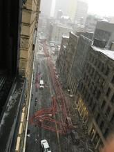 В центре Нью-Йорка упал башенный кран