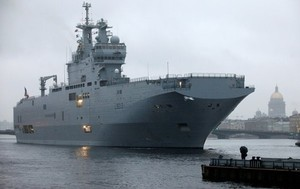 """Франция передала ВМФ России все радиоэлектронное оборудование с """"Мистралей"""""""