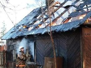 Жители хакасской деревни потеряли дом в огне