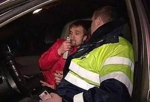 В выходные в Хакасии поймали сто пьяных водителей