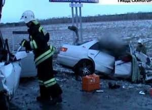 На абаканской трассе в ДТП погибло 2 человека