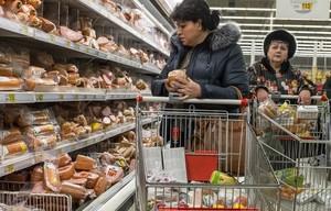 Россияне стали больше тратить на продовольственные товары
